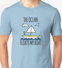 The Ocean Floats My Boat T-Shirt