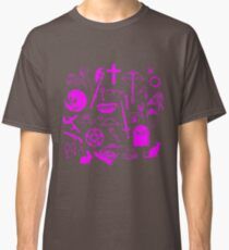 Buffy Symbology - Pink Classic T-Shirt