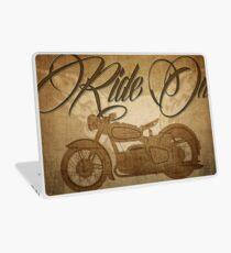 Ride On Motorcycle Laptop Skin