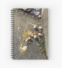 egg curbs Spiral Notebook