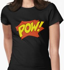 POW! Womens Fitted T-Shirt