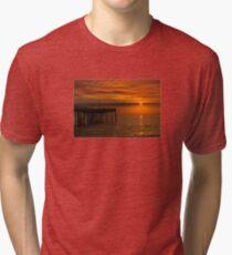 North Carolina Outer Banks Sunrise Tri-blend T-Shirt
