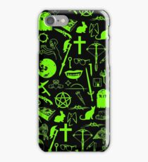 Buffy Symbology - Green iPhone Case/Skin