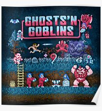 Goblins n' Ghosts Poster
