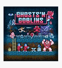 Goblins n' Ghosts Photographic Print