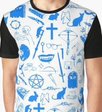 Buffy Symbology - Blue Graphic T-Shirt
