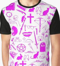 Buffy Symbology - Pink Graphic T-Shirt