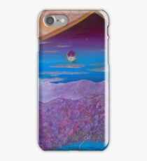 The Blue Sunset iPhone Case/Skin