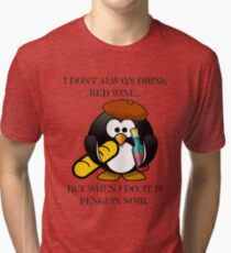 The Worlds Most Famous Penguin  Tri-blend T-Shirt
