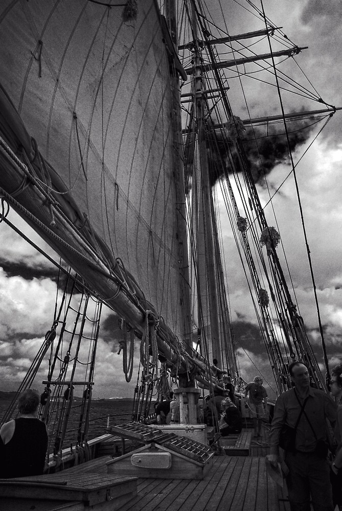 Aboard The R Tucker Thompson by Yukondick