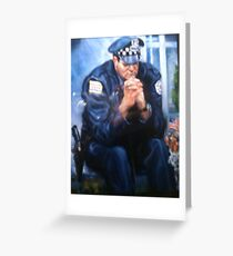 Goodbye To Partners, Chicago PD, SOLD Greeting Card