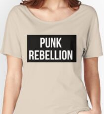 Punk Rebellion Women's Relaxed Fit T-Shirt