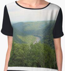 West Virginia Hills Chiffon Top