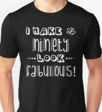Fabulous 90th Birthday Unisex T-Shirt