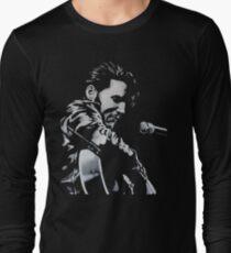 Elvis Presley - The King Is Back Long Sleeve T-Shirt