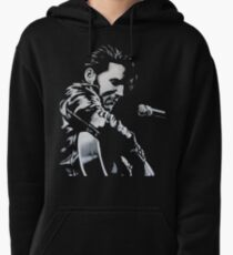 Elvis Presley - The King Is Back Pullover Hoodie