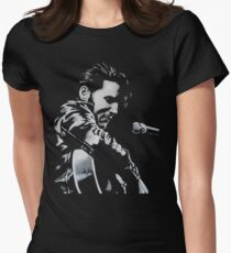 Elvis Presley - The King Is Back Women's Fitted T-Shirt