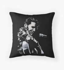 Elvis Presley - The King Is Back Throw Pillow