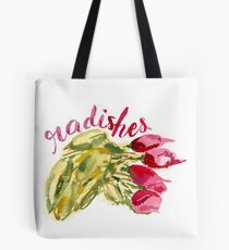Radishes watercolor  Tote Bag