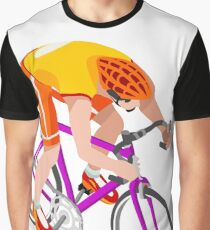 Road Cycling Cyclist Rider Sport Graphic T-Shirt