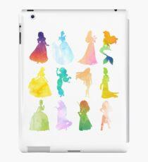 Watercolor Disney Princesses iPad Case/Skin