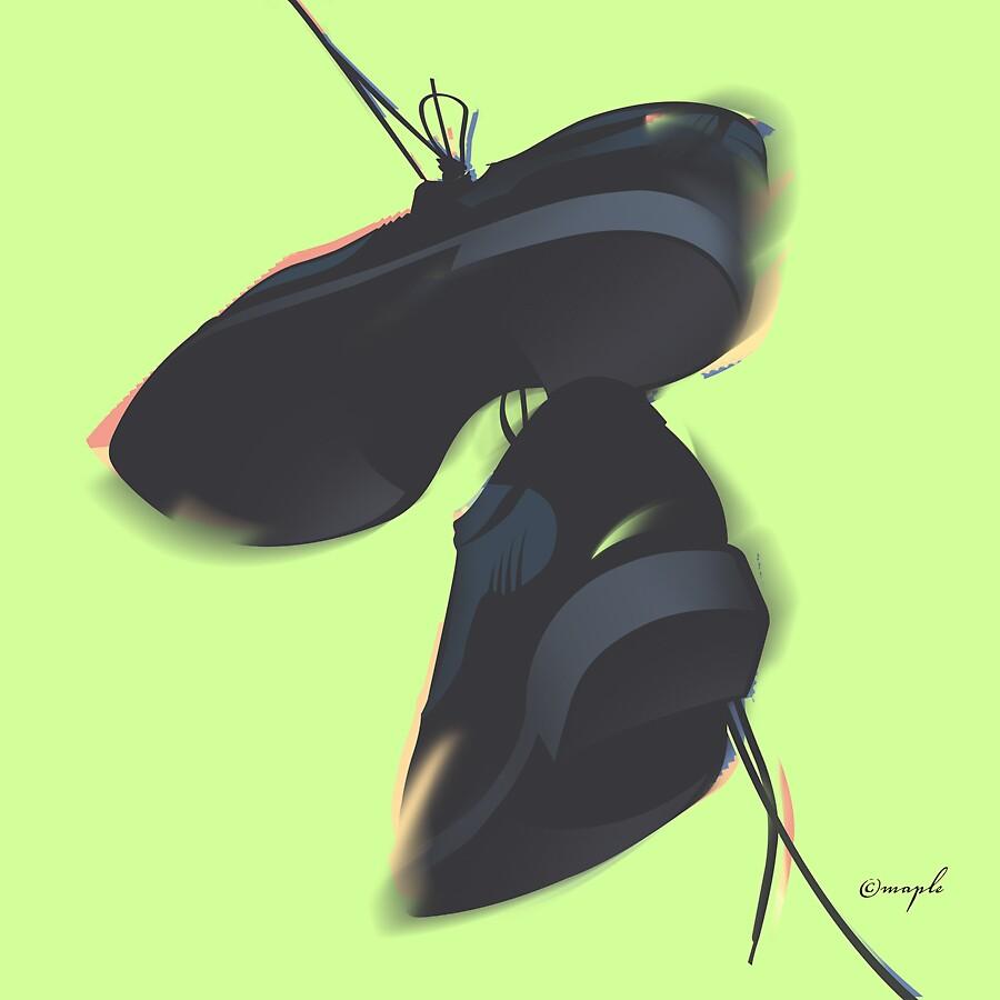 Shoe Danglers by cpmaple