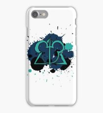 Deathly Hallows with Mouse Ears iPhone Case/Skin