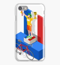 Tour France Cycling Race Sport iPhone Case/Skin