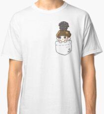 EXO Chanyeol & Toben in Pocket Classic T-Shirt