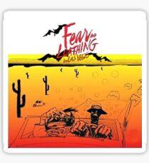 Fear and Loathing in Las Vegas- Desert Sticker