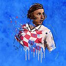 Classic Modric by Mark White