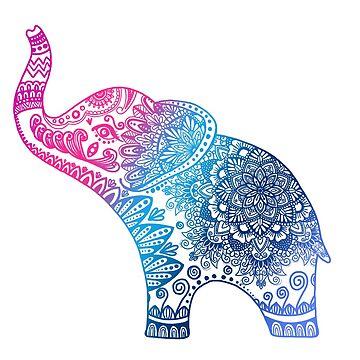Mandala de elefante de NicoleHarvey