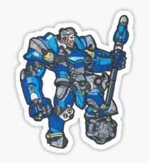 Reinhardt Hero Sticker Sticker