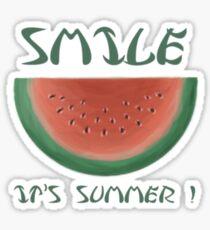 Watermelon = Summer  Sticker