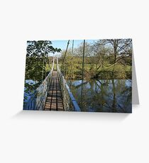 Canford Magna Bridge Greeting Card