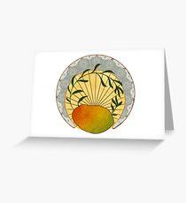 Fancy Mango Greeting Card