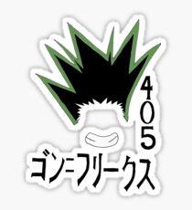 Gon -Pro Hunter Sticker