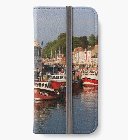 Evening in Weymouth iPhone Wallet