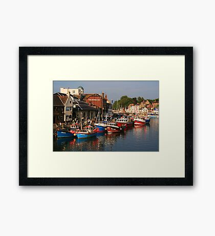 Evening in Weymouth Framed Print