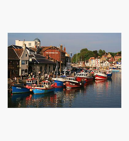 Evening in Weymouth Photographic Print