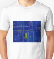 Green Lines Two Unisex T-Shirt