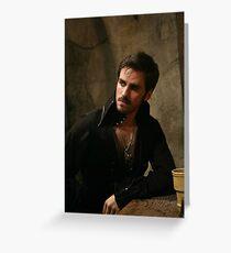 Killian Jones aka Captain Hook Greeting Card