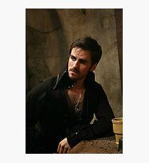 Killian Jones aka Captain Hook Photographic Print