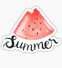 Summer and Watermelons Sticker