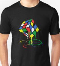 Cubic Meltdown. Unisex T-Shirt