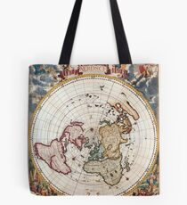 Polar Map; Cornelis Dankertz; c 1700 Tote Bag