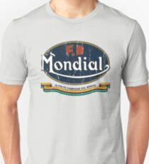 Mondial FB Ribbon BLACK DISTRESSED T-Shirt