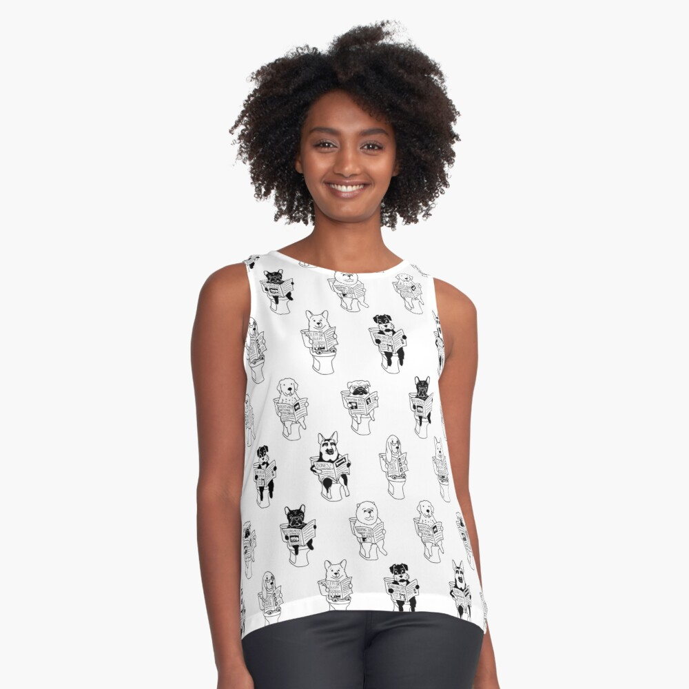 Morning Constitutional Sleeveless Top