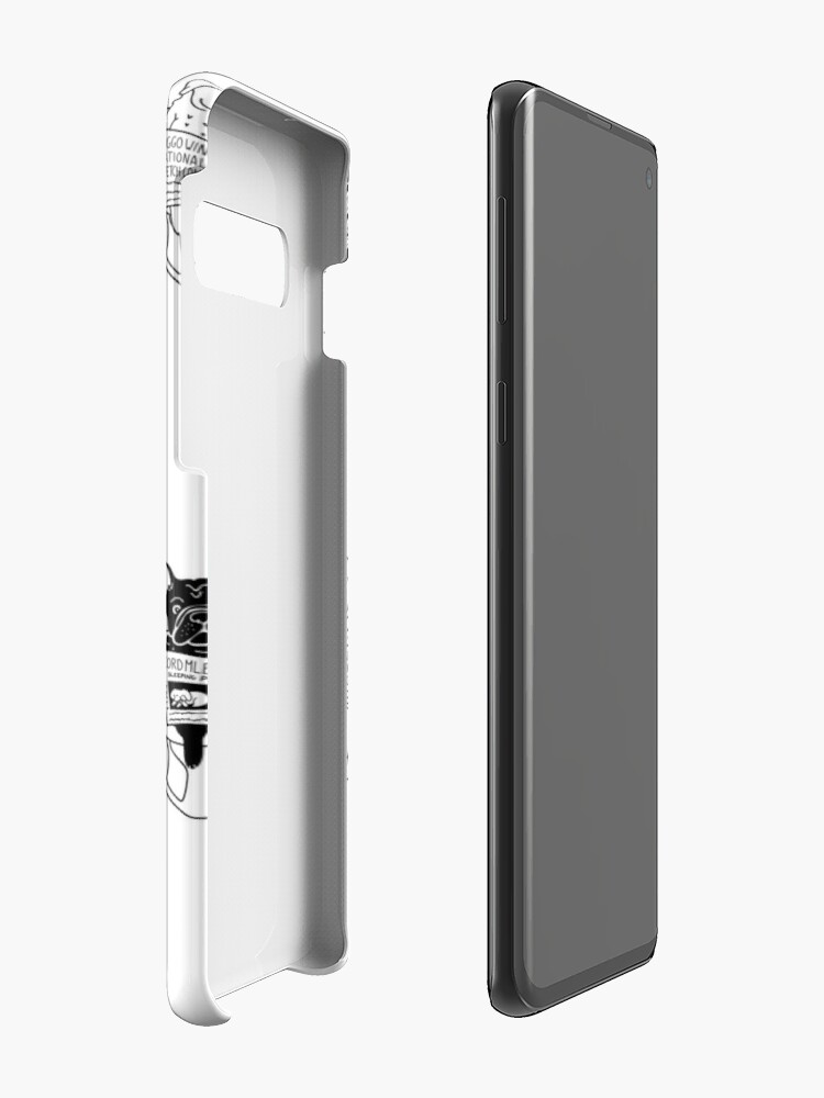 Alternate view of Morning Constitutional Case & Skin for Samsung Galaxy