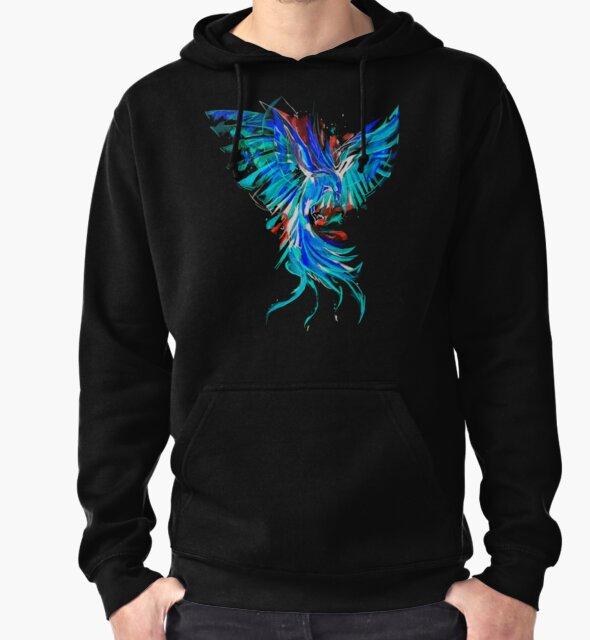 blue phoenix by AdrianoDiana